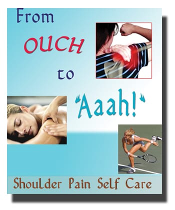 An educated client is a returning client! Ouch to Aaah is the perfect book for your clients to understand their shoulder injuries